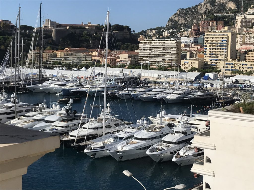 Image of Monaco superyachts